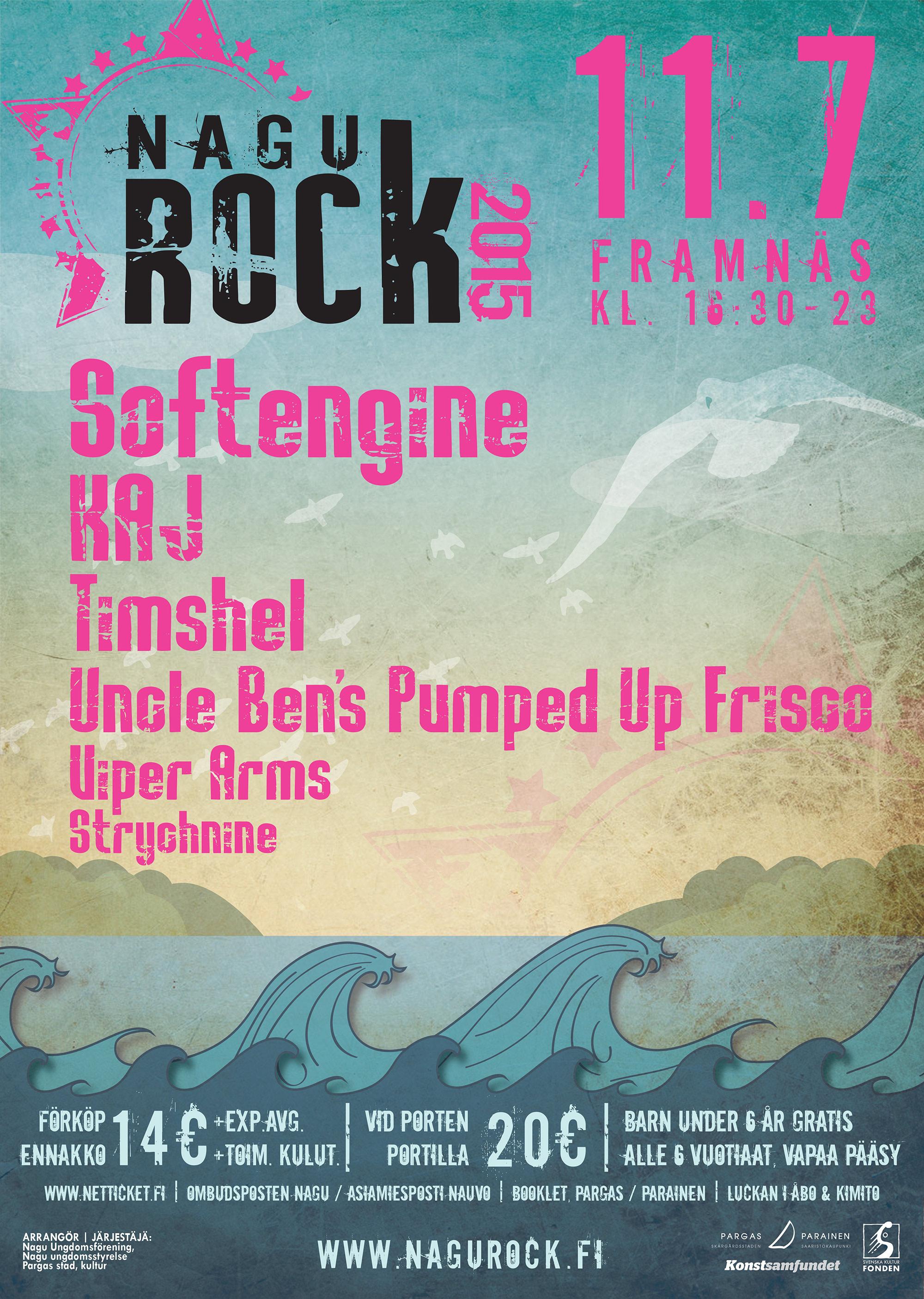 Nagu Rock 2015 – Poster