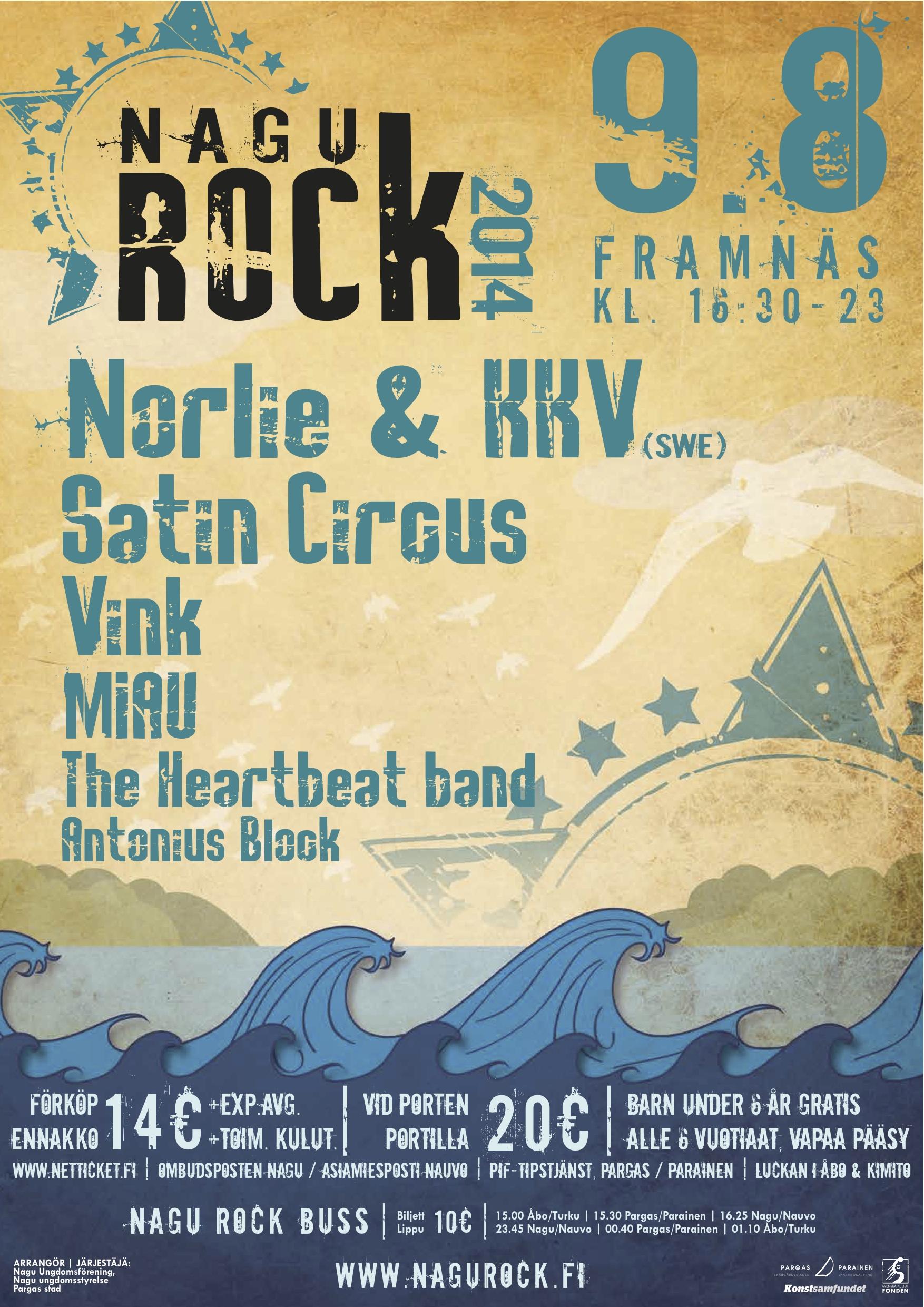 Nagu Rock 2014 – Poster