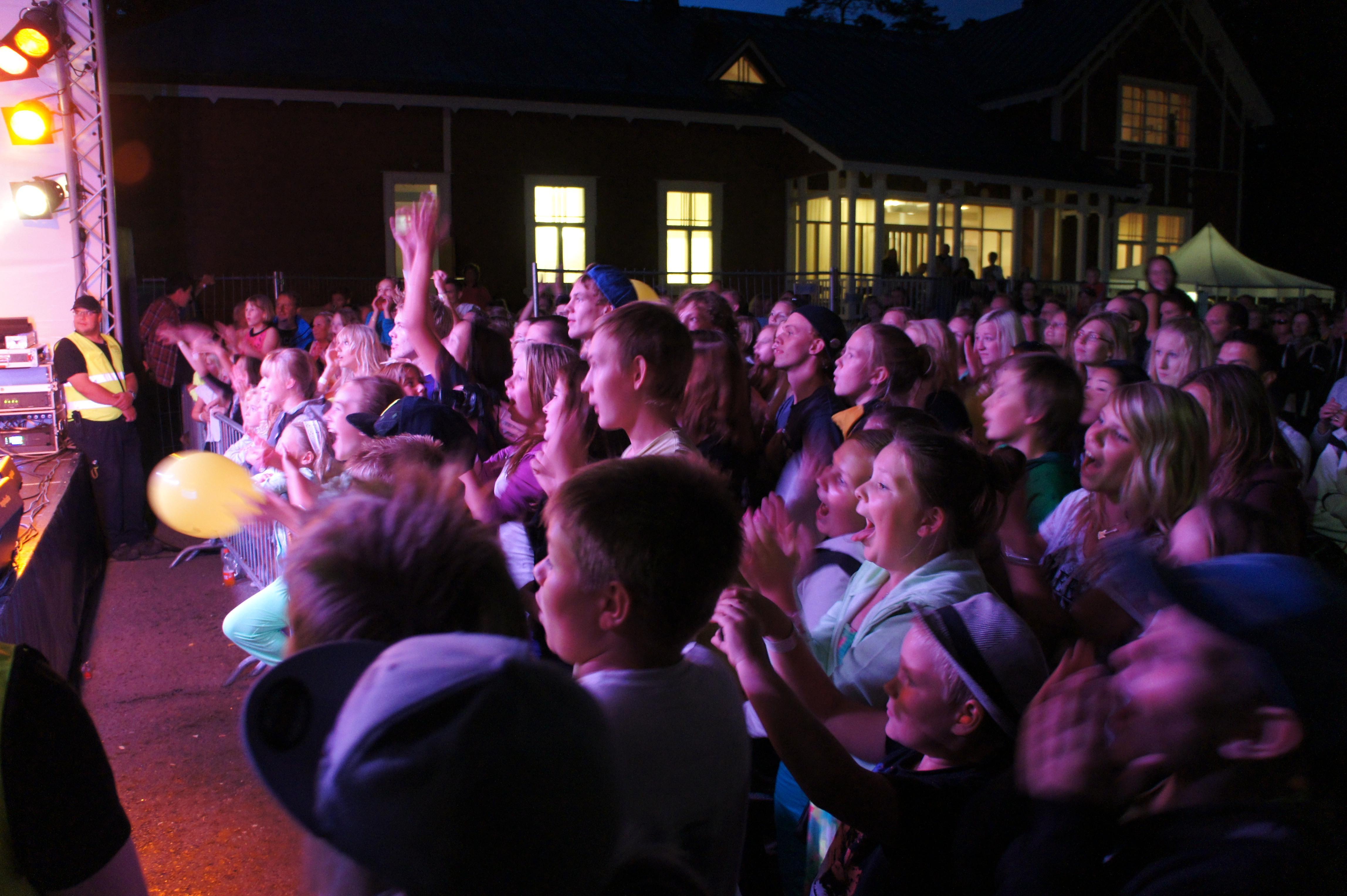Nagu Rock crowd in 2013